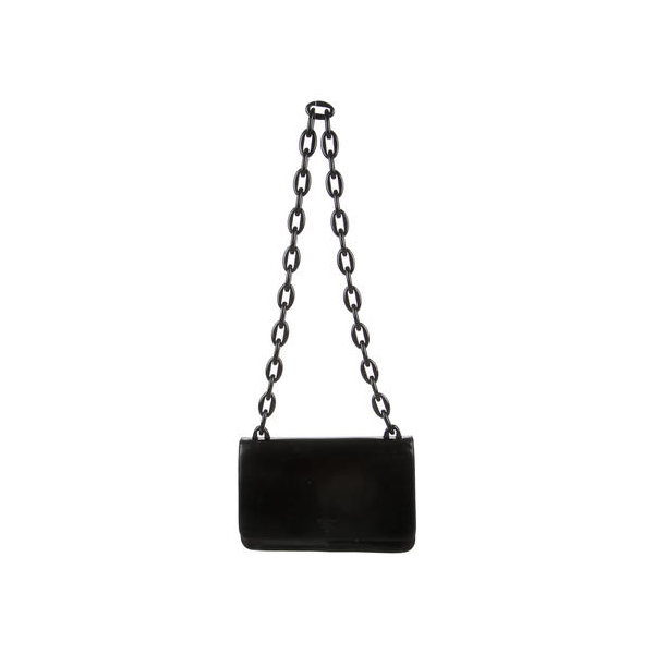Women Prada MADRAS SWING BAG Black Outlet Online