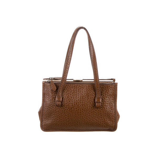 Women Prada BERLINO SHOULDER BAG Brown Outlet Online